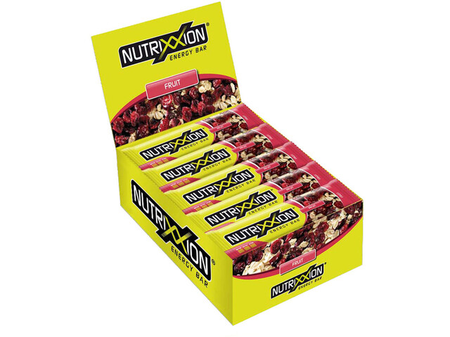 Nutrixxion Boîte Barres énergétiques 25 x 55g, Fruit
